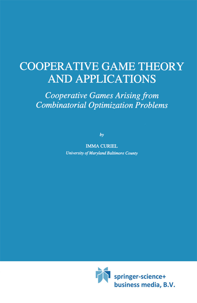 Cooperative Game Theory and Applications als Buch (gebunden)