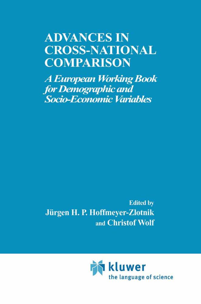 Advances in Cross-National Comparison als Buch (gebunden)