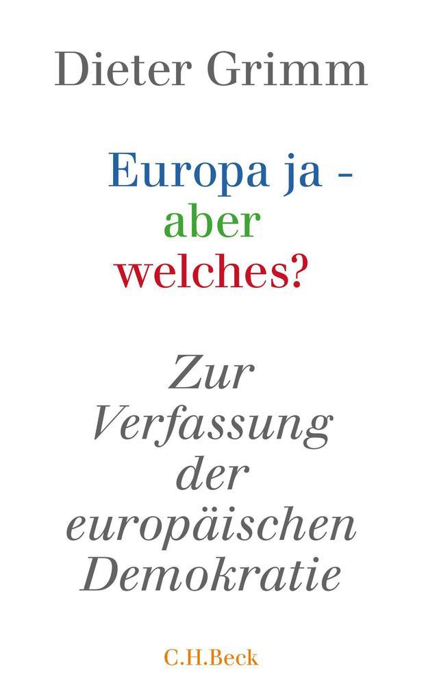 Europa ja - aber welches? als eBook epub
