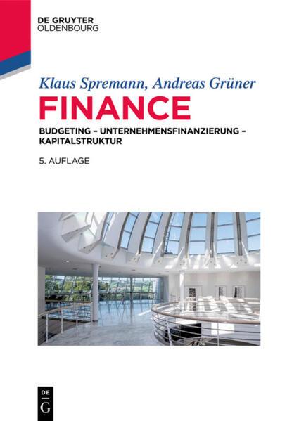 Finance als Buch (gebunden)