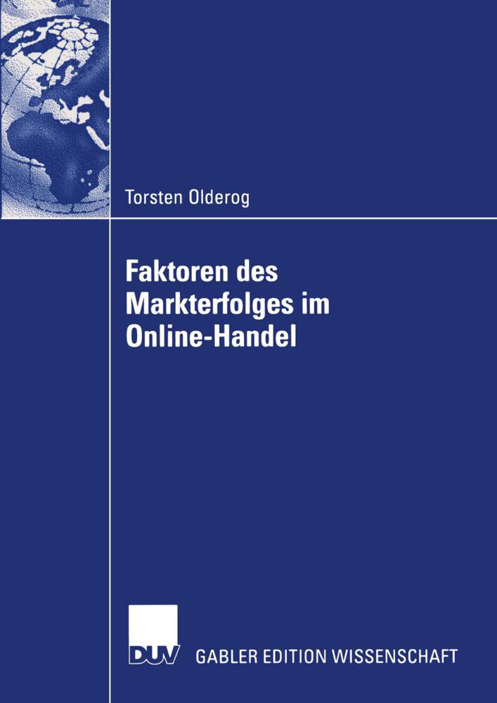 Faktoren des Markterfolges im Online-Handel als Buch (kartoniert)