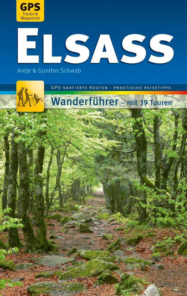 Elsass Wanderführer Michael Müller Verlag als eBook epub