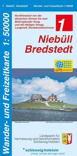 Niebüll - Bredstedt 1 : 50 000 als Blätter und Karten