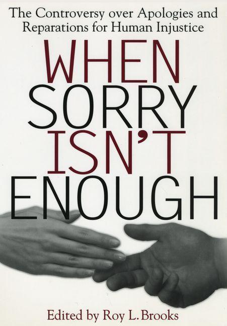 When Sorry Isn't Enough als eBook pdf