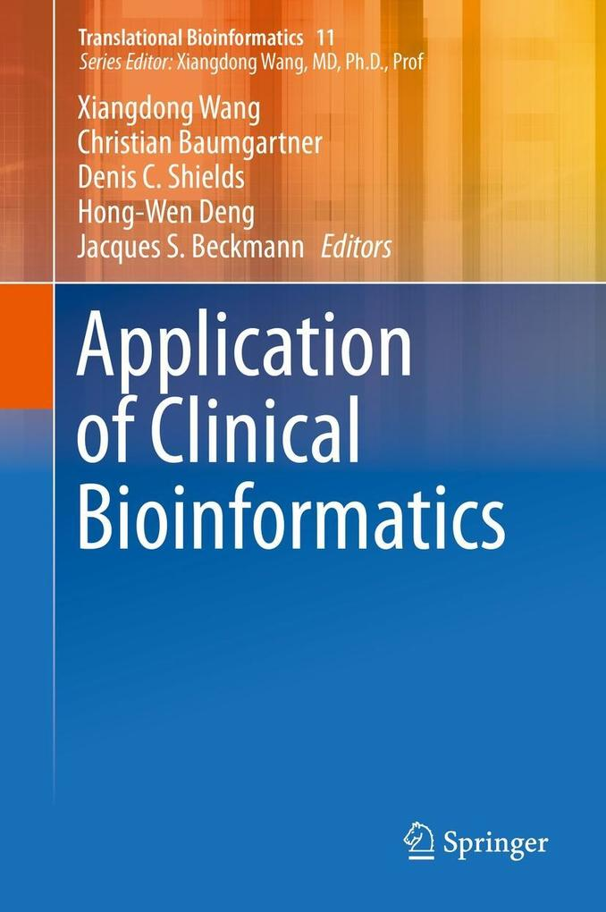 Application of Clinical Bioinformatics als eBook pdf
