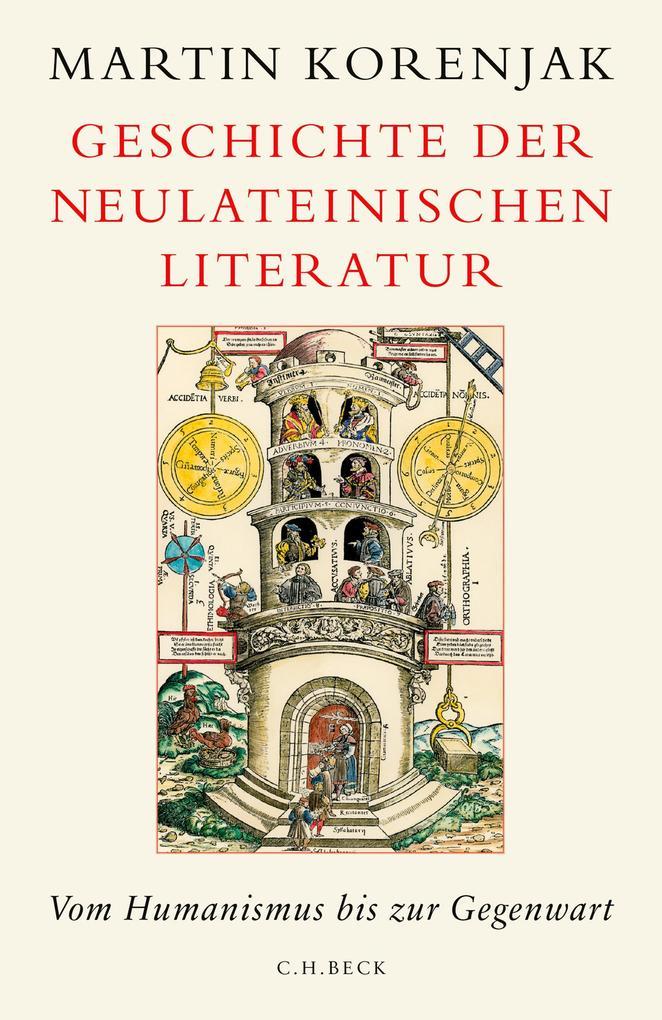 Geschichte der neulateinischen Literatur als eBook epub