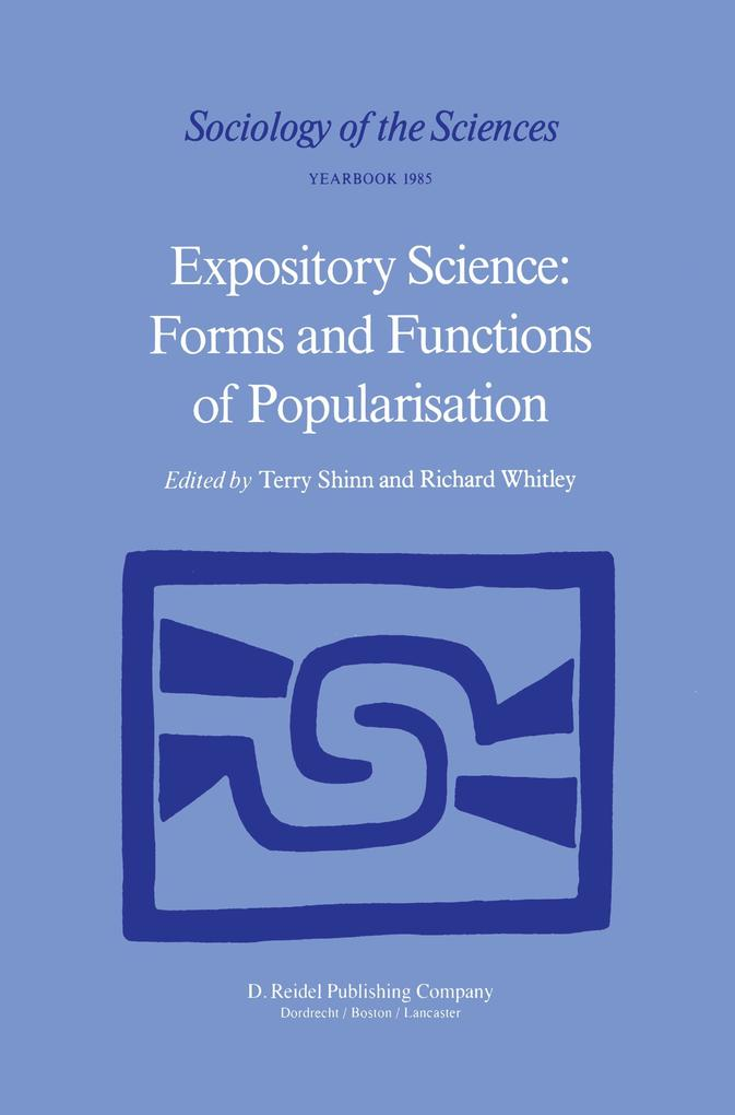 Expository Science: Forms and Functions of Popularisation als Buch (kartoniert)
