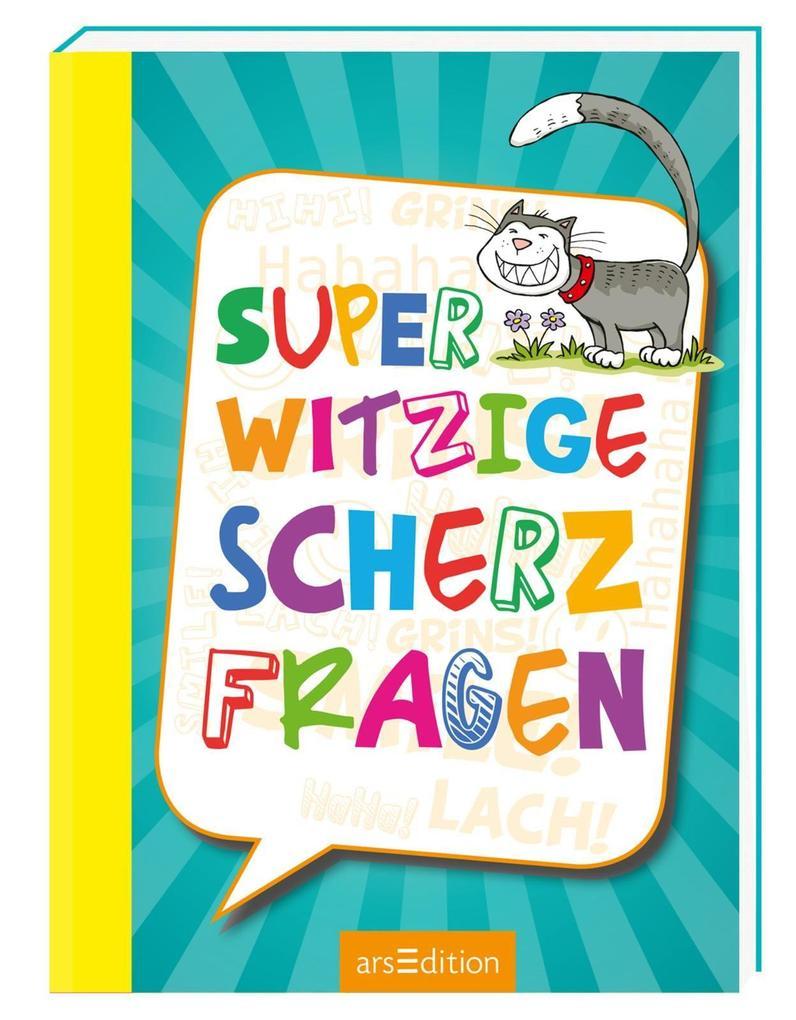 Superwitzige Scherzfragen als Buch (kartoniert)