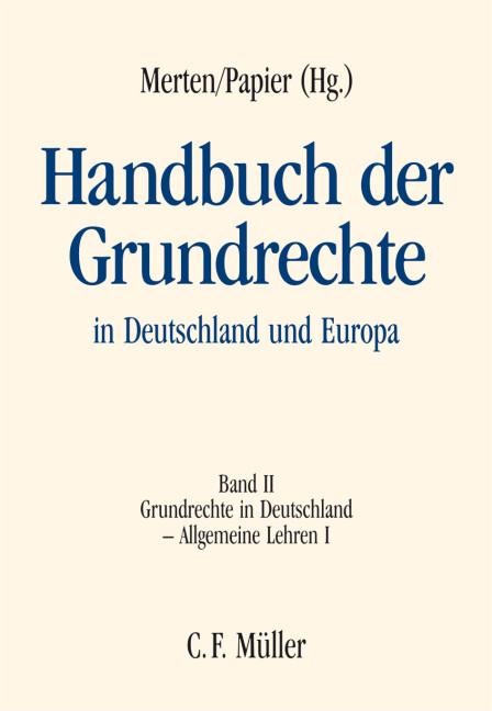 Handbuch der Grundrechte in Deutschland und Europa 2 als Buch (gebunden)