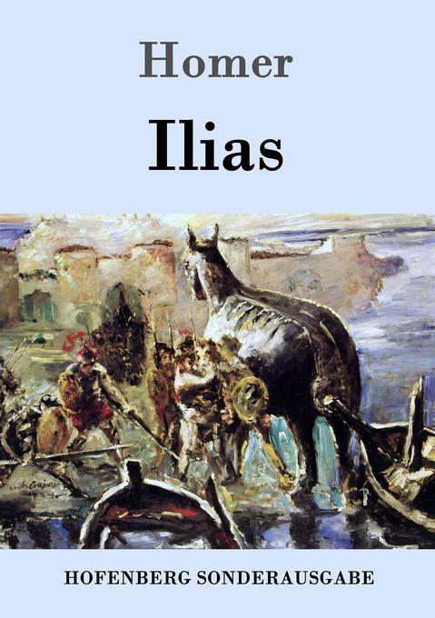 Ilias als Buch (kartoniert)