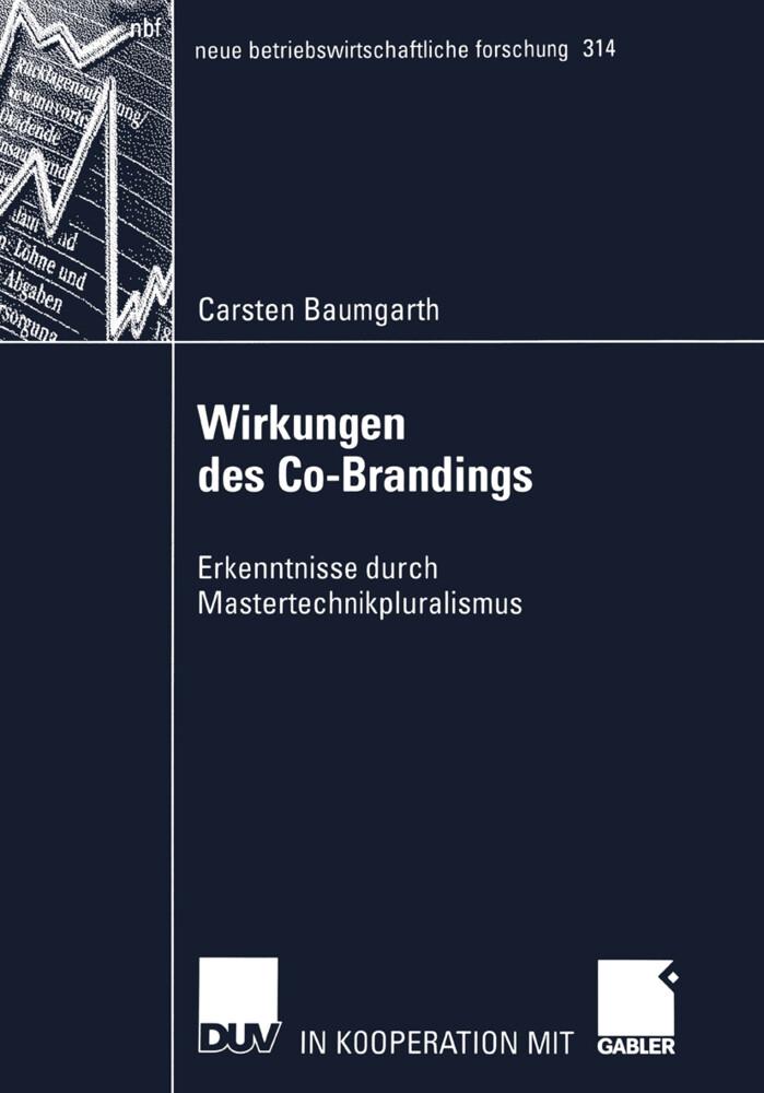 Wirkungen des Co-Brandings als Buch (kartoniert)