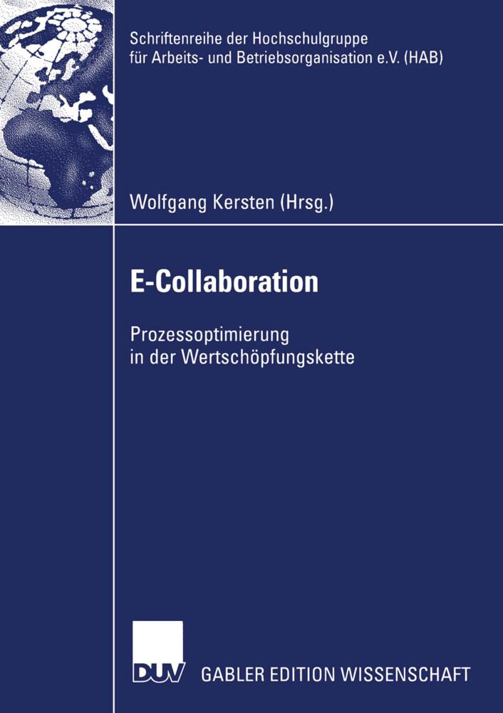 E-Collaboration als Buch (kartoniert)