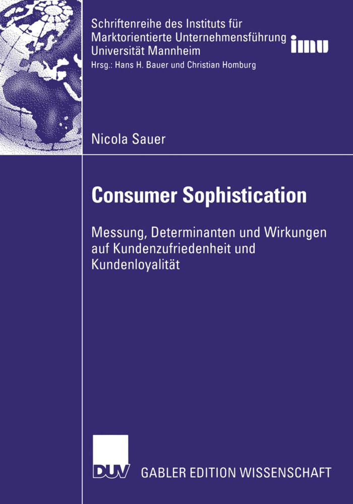 Consumer Sophistication als Buch (kartoniert)