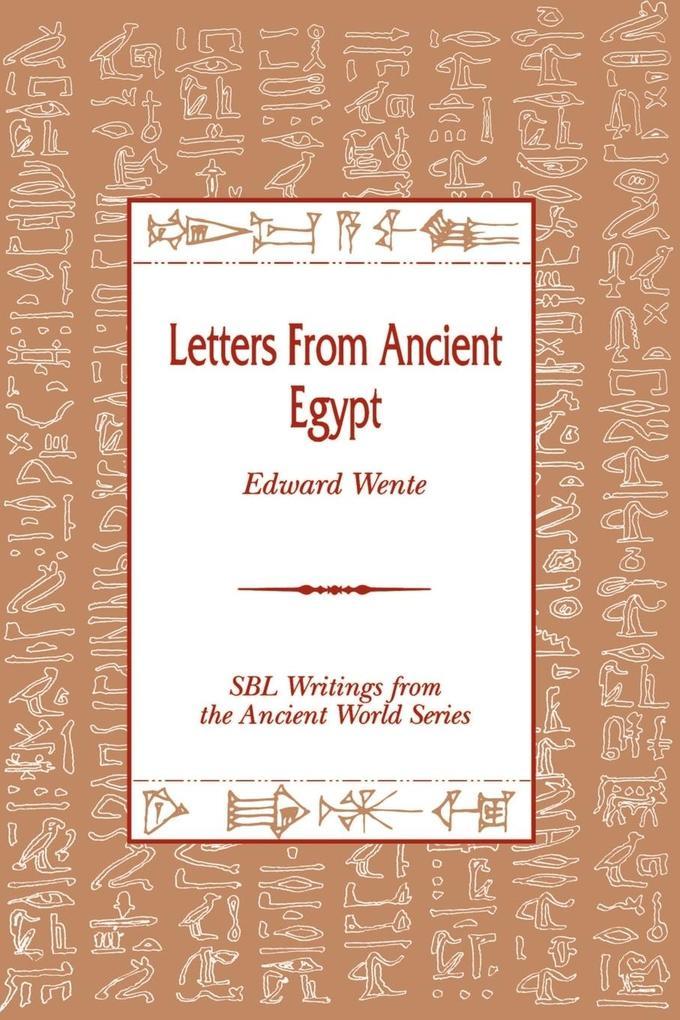 Letters from Ancient Egypt als Buch (kartoniert)