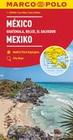 MARCO POLO Kontinentalkarte Mexiko, Guatemala, Belize, El Salvador 1: 2 500 000