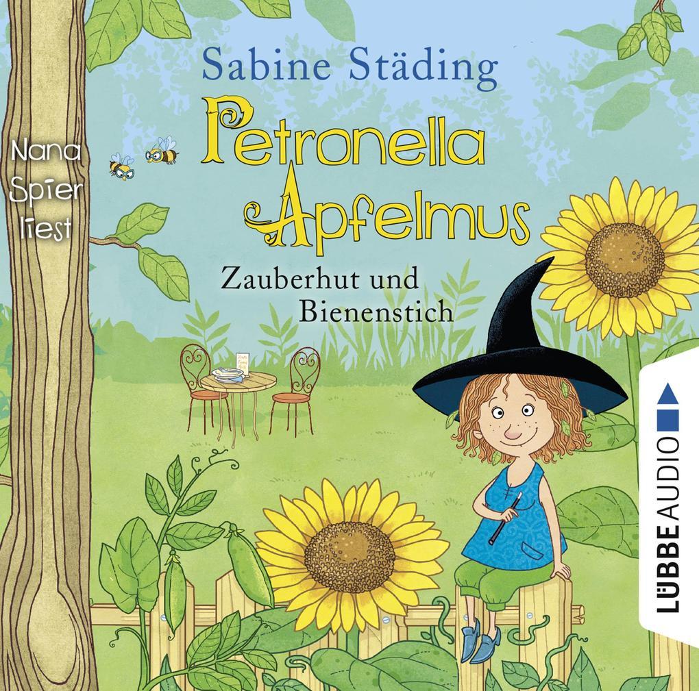 Petronella Apfelmus 04 - Zauberhut und Bienenstich als Hörbuch