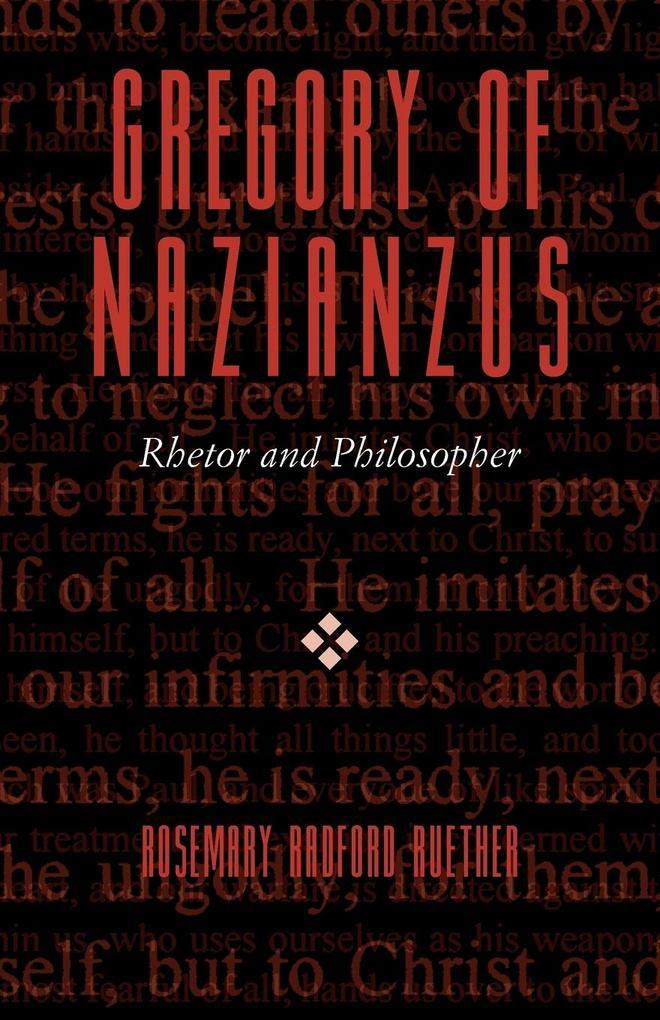 GREGORY OF NAZIANZUS als Taschenbuch