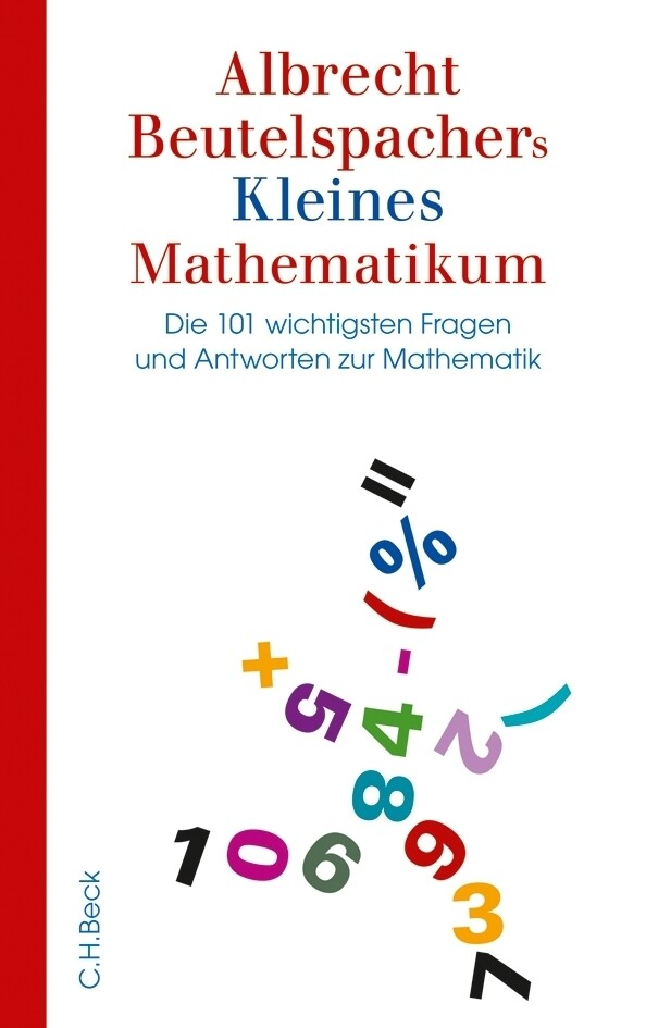 Albrecht Beutelspachers Kleines Mathematikum als Buch