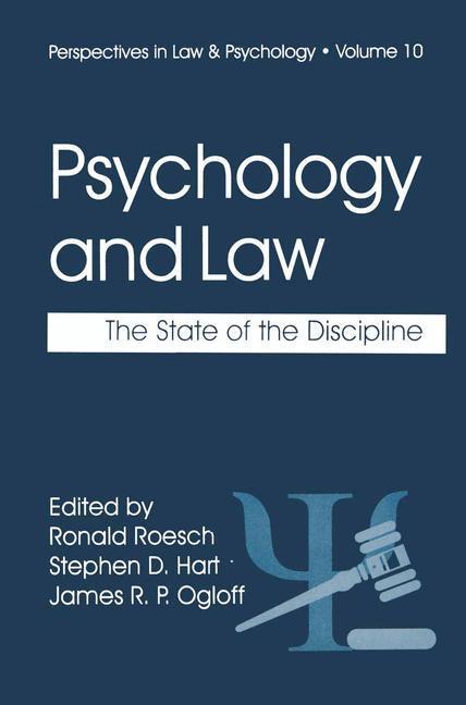 Psychology and Law als Buch (kartoniert)