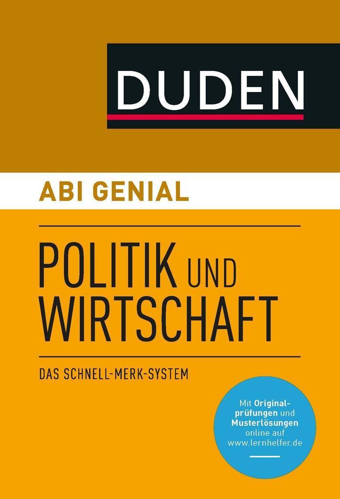 Abi genial Politik und Wirtschaft als Buch (kartoniert)