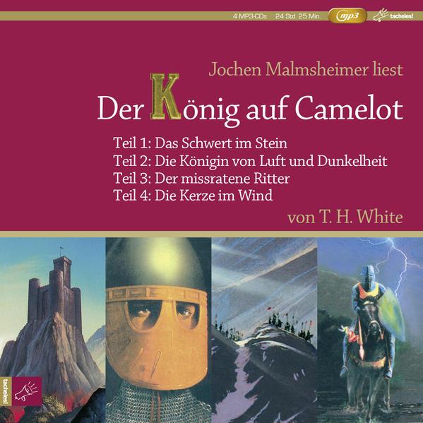 Der König auf Camelot Teil 1-4 als Hörbuch CD