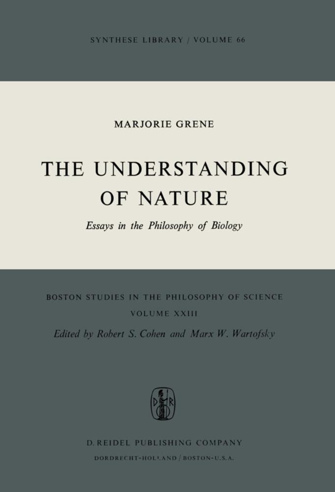 The Understanding of Nature als Buch (gebunden)