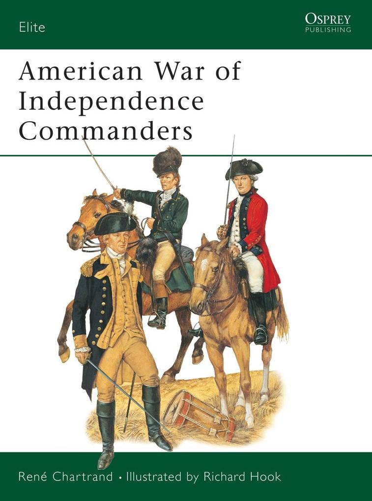 American War of Independence Commanders als eBook pdf