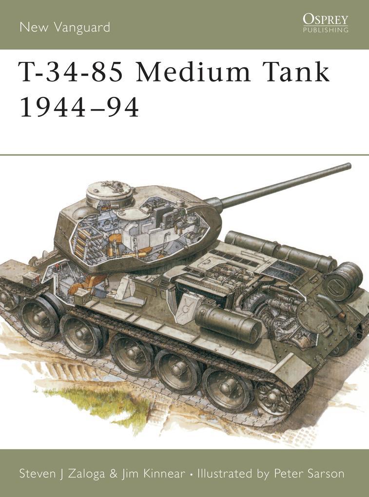 T-34-85 Medium Tank 1944-94 als eBook pdf