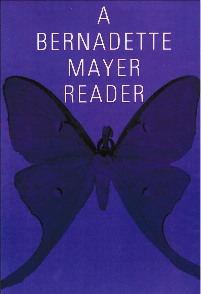 A Bernadette Mayer Reader als eBook epub