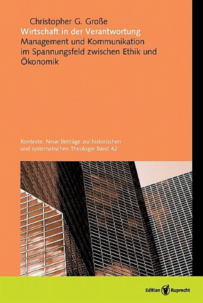 Wirtschaft in der Verantwortung als eBook pdf