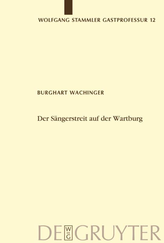Der Sängerstreit auf der Wartburg als Buch (gebunden)