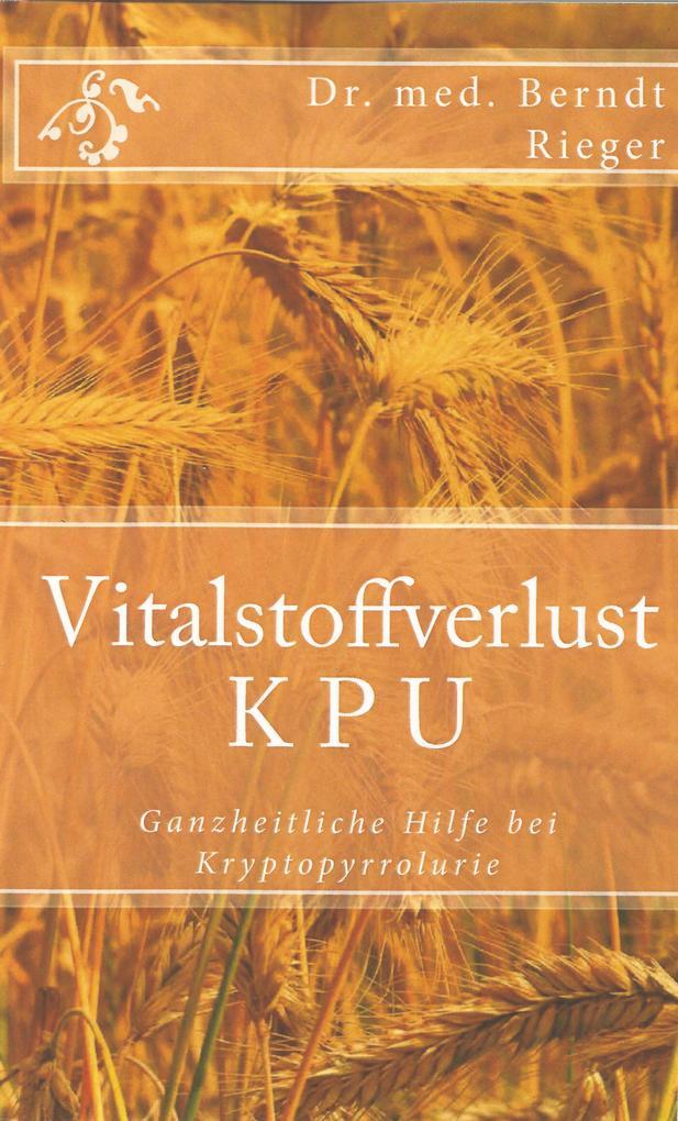 Vitalstoffverlust KPU als eBook epub