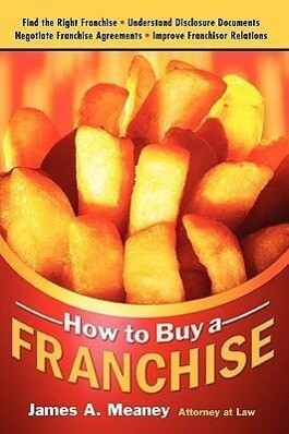 How to Buy a Franchise als Taschenbuch