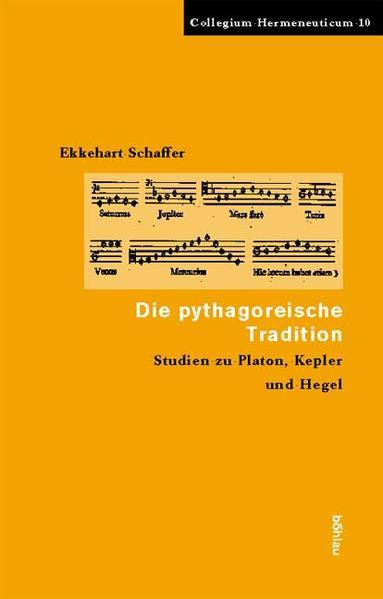 Die pythagoreische Tradition als Buch (gebunden)