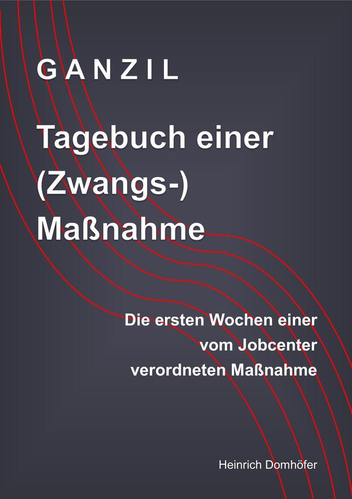 GANZIL - Tagebuch einer (Zwangs-) Maßnahme als eBook epub