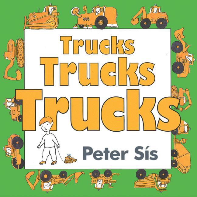 Trucks Trucks Trucks Board Book als Buch (kartoniert)