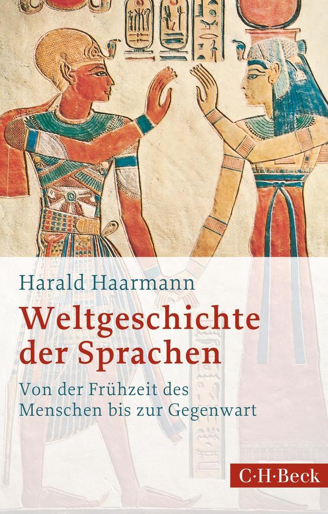Weltgeschichte der Sprachen als eBook epub