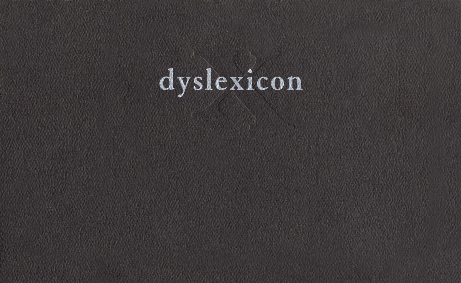 dyslexicon als Taschenbuch