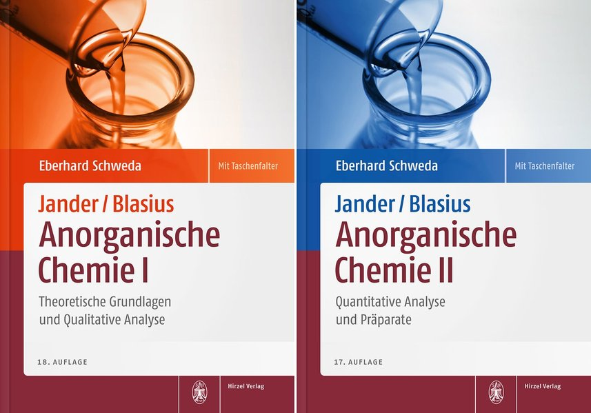 Package: Jander/Blasius, Anorganische Chemie 1+2 als Buch (kartoniert)