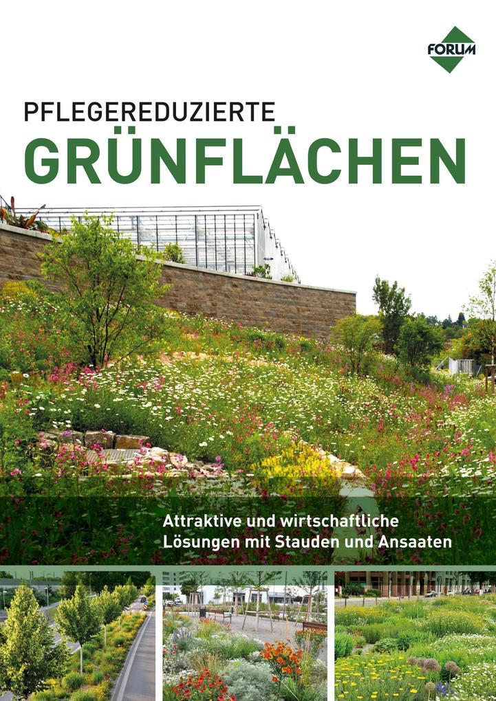 Pflegereduzierte Grünflächen als eBook epub