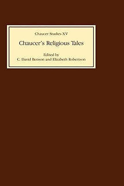 Chaucer's Religious Tales Chaucer's Religious Tales Chaucer's Religious Tales als Buch (gebunden)