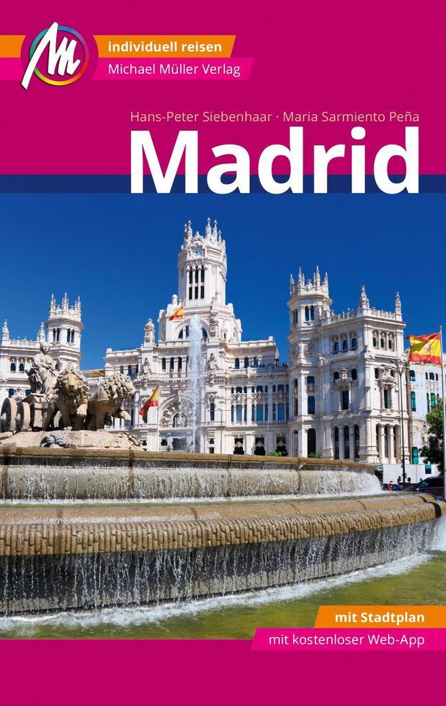 Madrid MM-City Reiseführer Michael Müller Verlag als Buch (kartoniert)