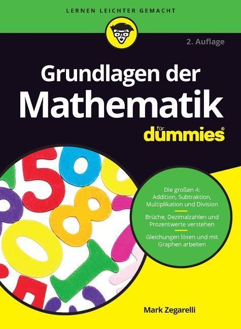Grundlagen der Mathematik für Dummies als Buch (kartoniert)