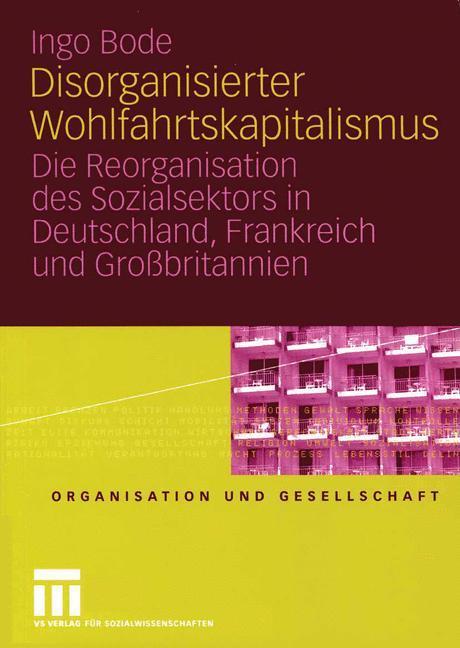 Disorganisierter Wohlfahrtskapitalismus als Buch (kartoniert)