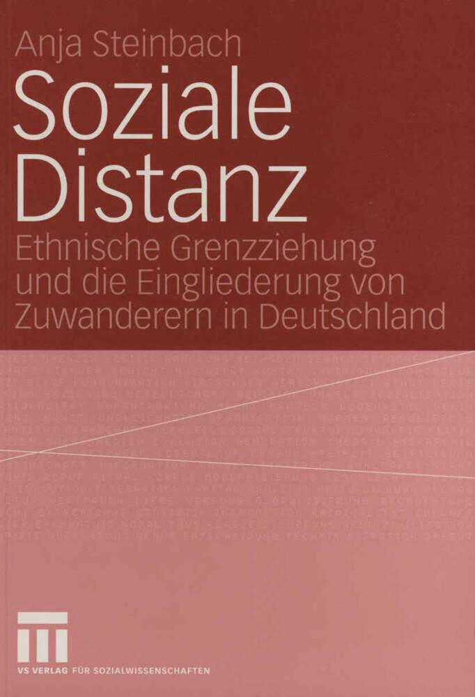 Soziale Distanz als Buch (kartoniert)