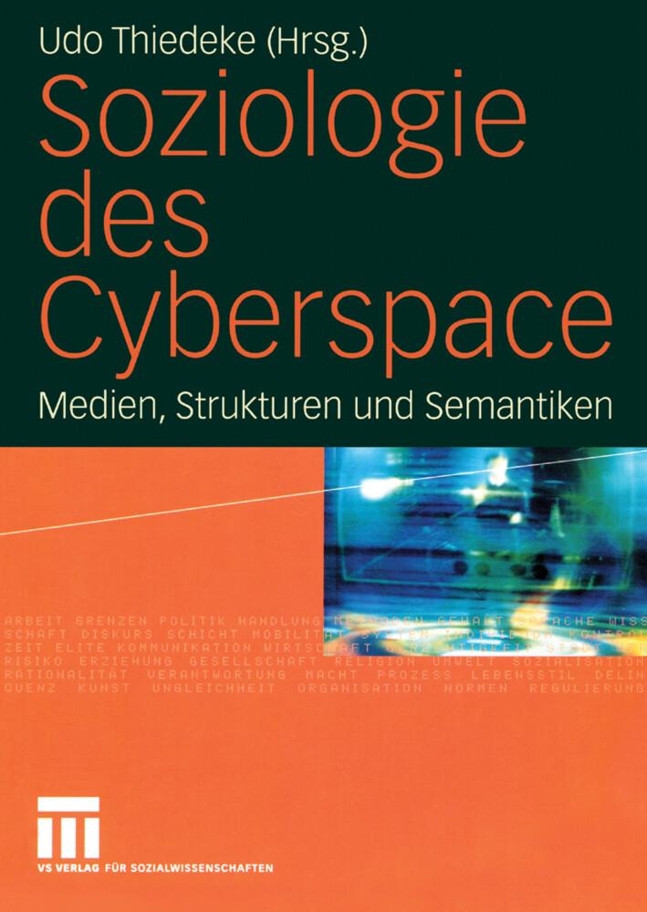 Soziologie des Cyberspace als Buch (kartoniert)