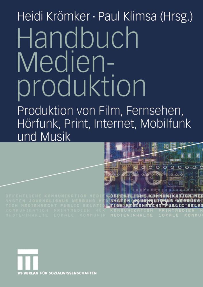 Handbuch Medienproduktion als Buch (kartoniert)