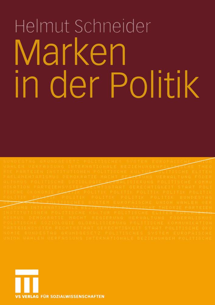 Marken in der Politik als Buch (kartoniert)