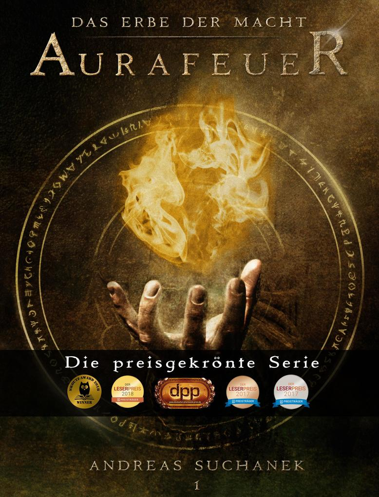 Das Erbe der Macht - Band 1: Aurafeuer (Urban Fantasy) als eBook epub