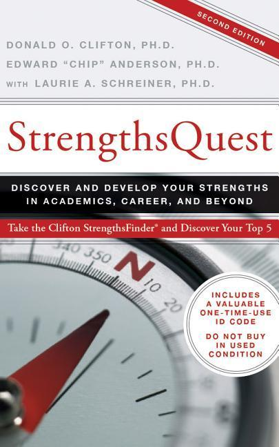 Strengthsquest: Discover and Develop Your Strengths in Academics, Career, and Beyond als Hörbuch CD